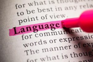 Different languages employ different words and expressions
